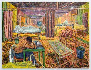 Cosmos Shiridzinomwa Dying Faculties Five Bhobh Zimbabwe Painting Zeitz MOCAA