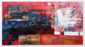 Gillian Rosselli Painting Five Bhob Zimbabwe Zeitz MOCAA
