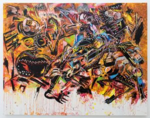 Janet Sinigwani Nyabeze Painting Five Bhobh Zimbabwe Zeitz MOCAA SWAG SMTHG7Something We Africans Got