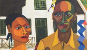 Richard Mudariki. The New Farmer and his Wife Five Bhob Zeitz MOCAA Art and Artists