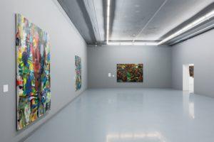 Five Bhobh Painting Zimbabwe Installation View Zeitz MOCAA