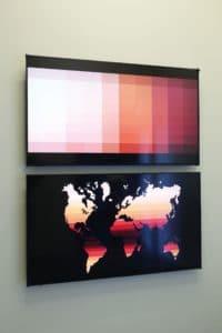 Five Bhobh Painting Installation View Zimbabwe Zeitz MOCAA Gradient 3 A global spectrum
