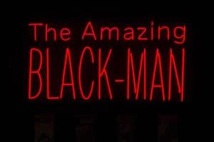 Kumasi J Barnett. The Amazing Black-Man Zeitz MOCAA Still here tomorrow to high five you yesterday