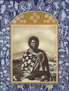 Zeitz MOCAA Artist Sue Williamson. Virginia Mngoma From A Few South Africans The Goodman Gallery.