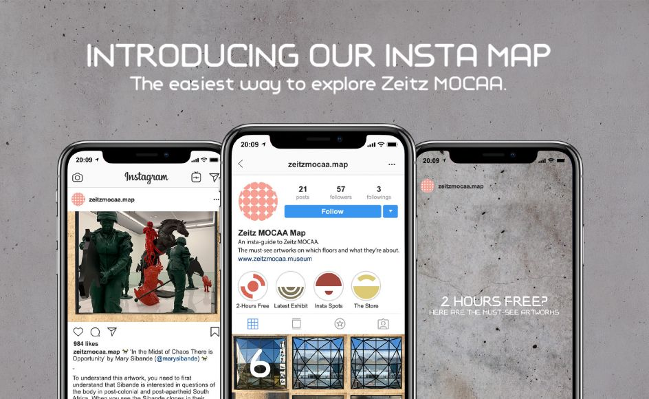 Zeitz MOCAA launches Insta Map: The first museum guide to be