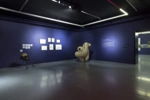 'Still here tomorrow to high five you yesterday…'. Installation view