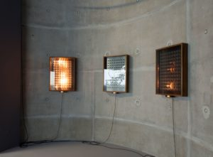 Kyu Sang Lee and Martin Wilson The Sound of Light Sequence I-III. 2019. Mixed media installation. 5 min 14 sec. Installation view.