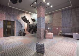Nobukho Nqaba Silindile Installation view artist 'Izicwangciso zezethu... (We Make Plans) Zeitz MOCAA Project Space