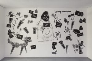 William Kentridg Ubu Tells Truth Zeitz MOCAA Why Should I hesitate Putting Drawings to work Installation Drawing Art Fine Art