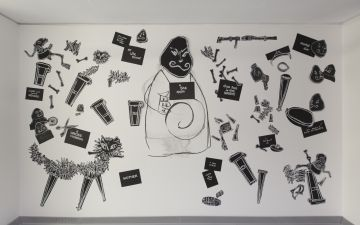 Drawing Fragments from Ubu Tells The Truth