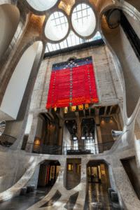 Abdoulaye Konaté Zeitz MOCAA Exhibitions artist Textile Idéogrammes, signes, symboles et logos (Hommage à Youssouf Tata Cissé et Germaine Dieterlen Abdoulaye Konaté